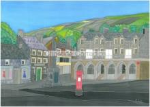 Image of Settle by Christine Carradice - Silk Painter exhibiting at the Makers Market