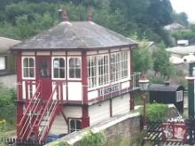 The old signal box in Settle