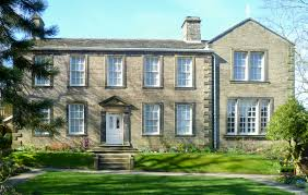 Image of the front of the Bronte Parsonage Museum