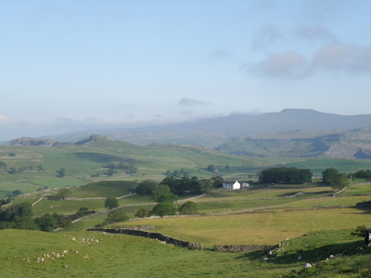 landscape shot of the dales