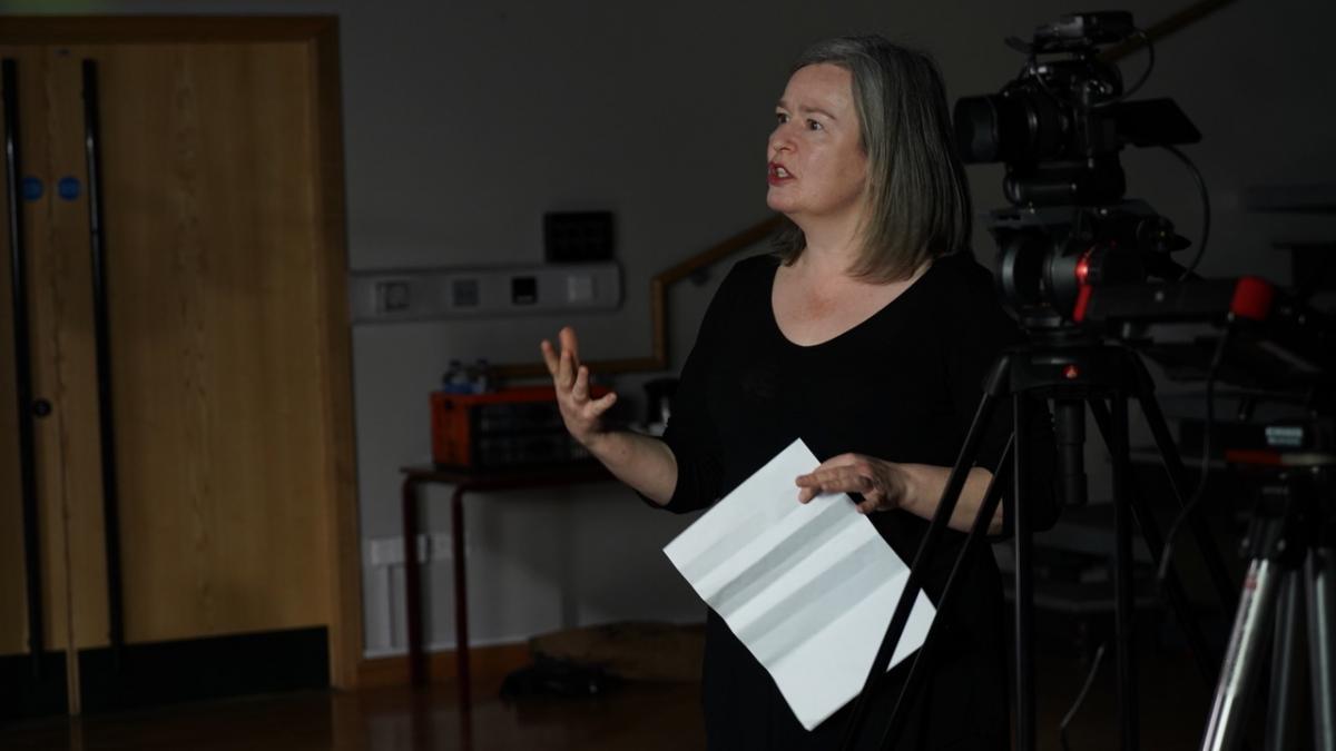 Jayne Davies directing